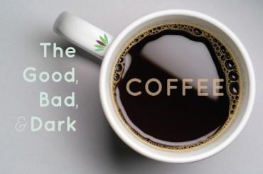 zwart koffie afvallen