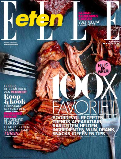 Cover Elle Eten okt 2014
