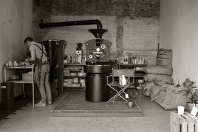 Daan Verleg van Denf Roasters of Coffee in Eindhoven
