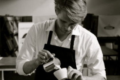 Mark Jordaan van Giraffe Coffee Roasters
