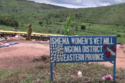 Ishema Women's Rwanda Koffiestation