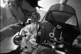 Koffiebrander Ian Pieters